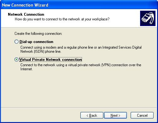 Setting Up VPN on XP
