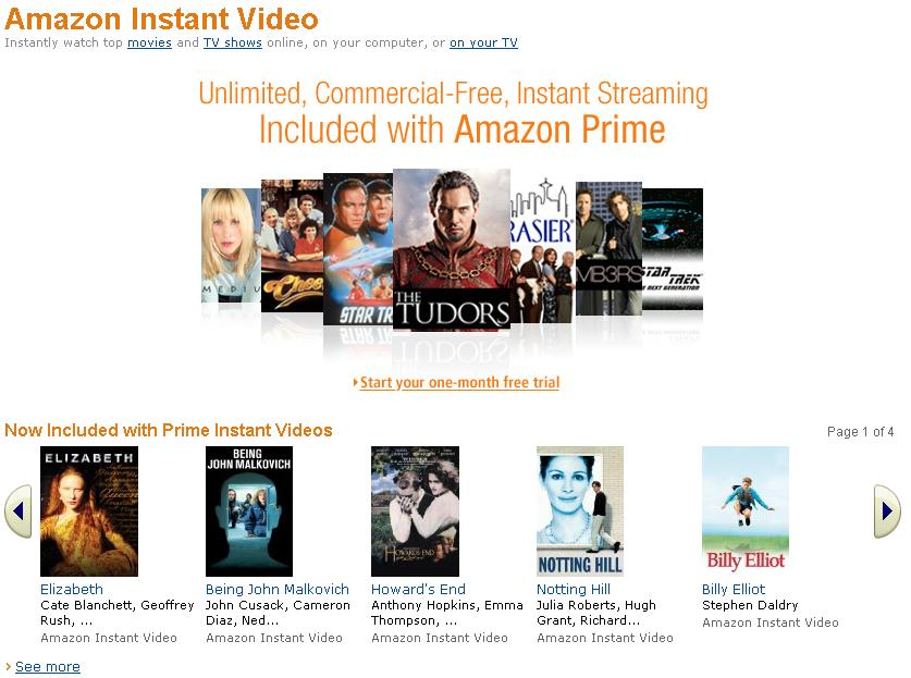 Watch Amazon Instant Video