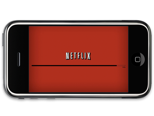 Watch Netflix on iPhone