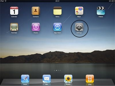 How to Setup  ipad 2 VPN