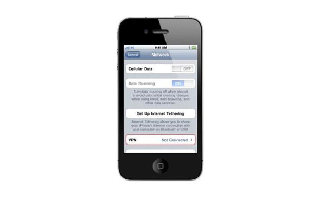 iphone 4 vpn